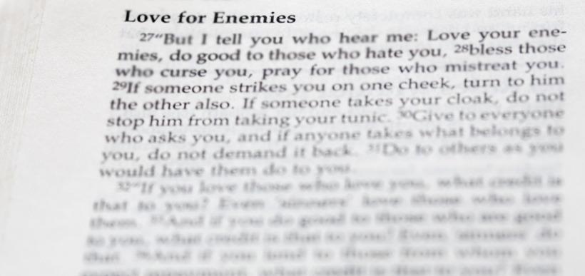 luke 6 27 love of enemies reflection